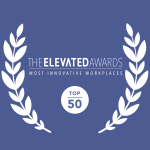 The elevated awards most innovative workplaces top 50