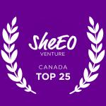 SheEO venture Top 25 Canada