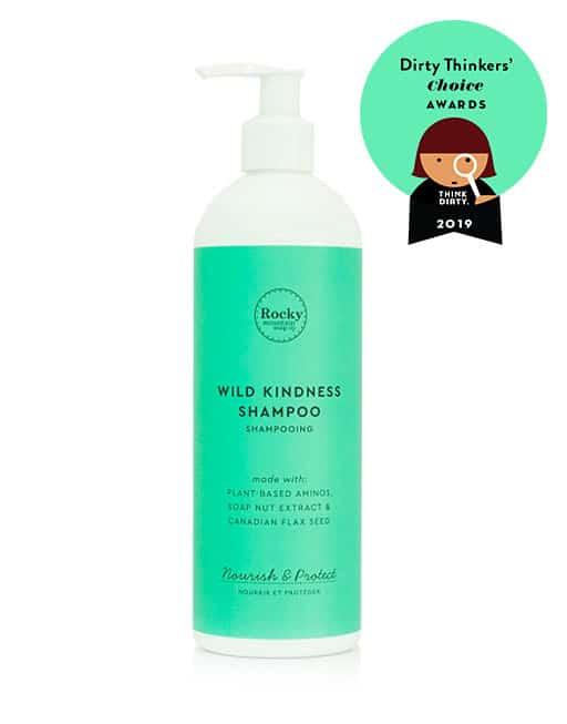 Rocky wild kindness shampoo