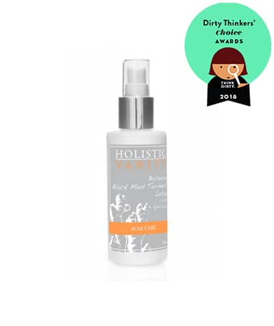 Holistic vanity acne treatment
